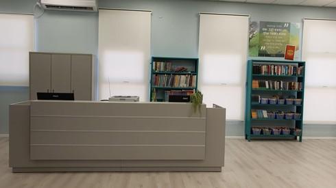 הספריה המחודשת בבית ספר אילון