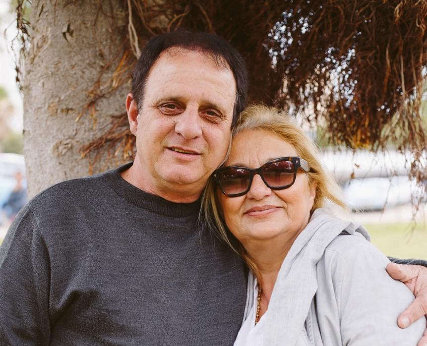 זורי כהן ואשתו אילי