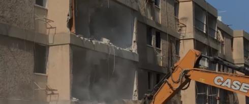 מתחם פיכמן נהרס
