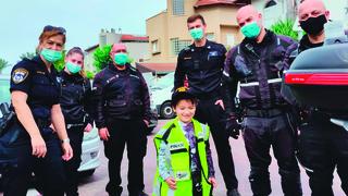 שוטר לעתיד? בר והשוטרים