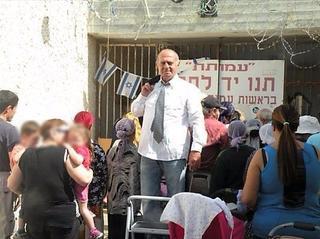 עמוס ירושלמי על רקע העמותה