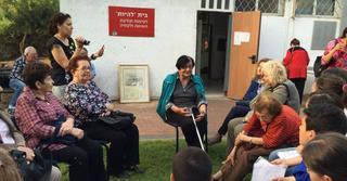 קליגר במפגש עם תלמידים בחולון| צילום פרטי