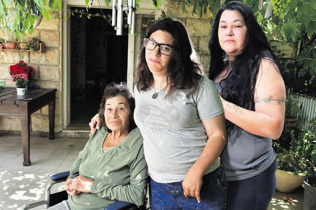 עינת, מור ורבקה ציפורי. צילום: רפי קוץ