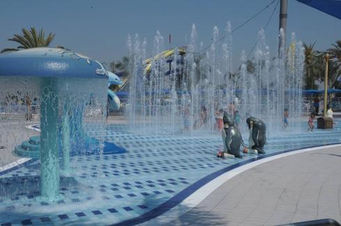 """עולם הילדים בימית ספארק המים. יח""""צ"""