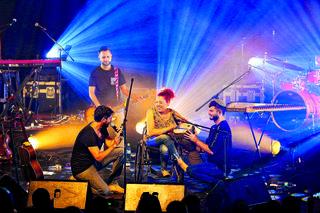ויטל זינגר במופע של עידן עמדי | צילום: יוסי אלטרמן