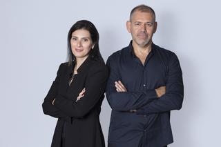 האדריכלים דן והילה ישראלביץ. צילום: תומר שלום - סטודיו תומס