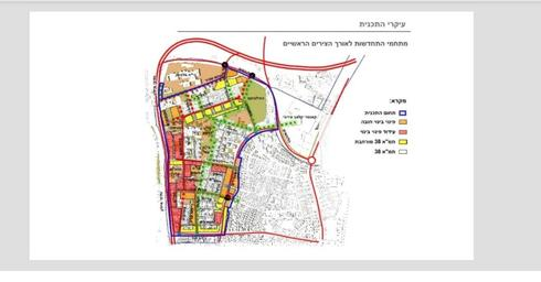 תוכנית ההתחדשות בתל גיבורים | צילום: עיריית חולון