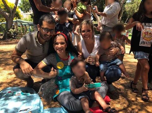"""מסיבת יום הולדת מרגשת לילדי """"גן הזוועות""""   צילום: פרטי"""