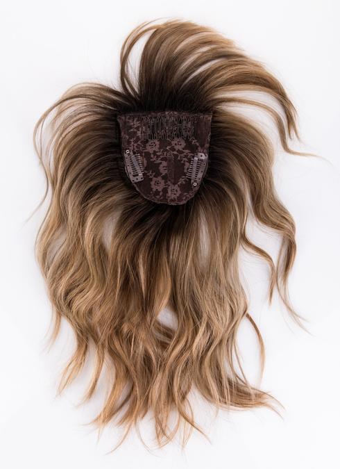 חיה ברנפמן תוספות שיער - תוספת פוני עם קליפסים. צילום: חן ברקוביץ