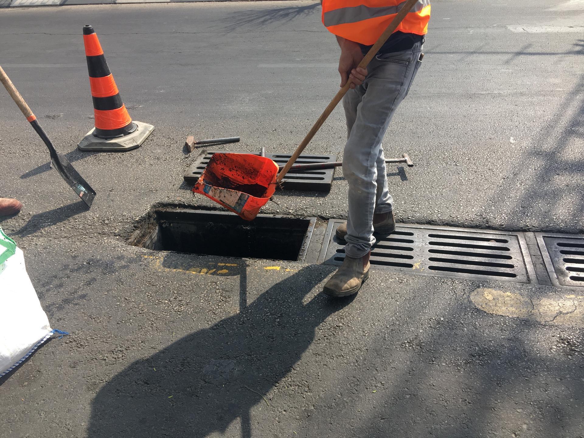 קולטן בטיפול עובדי העירייה | צילום: עיריית חולון