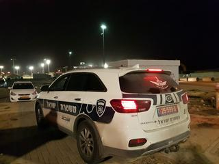 ניידת משטרה   צילום: יגאל ברמן