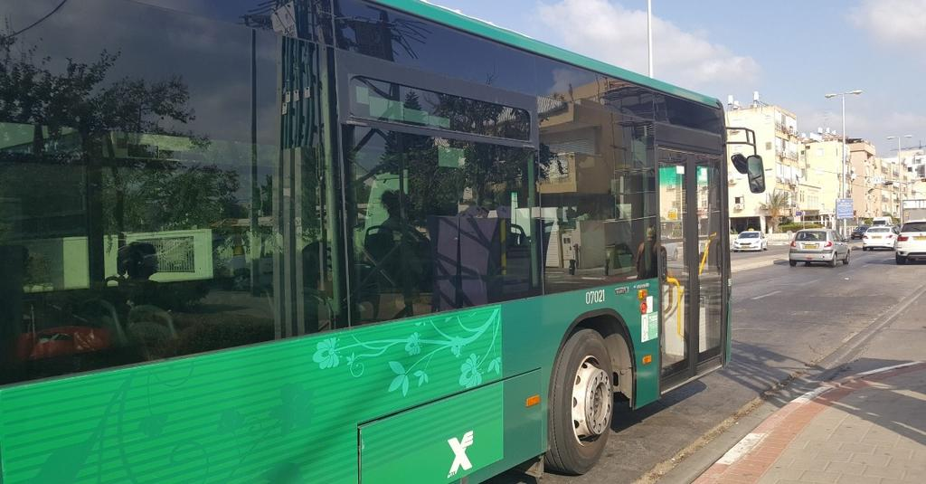 תחבורה ציבורית. המחשה   צילום: איילת רוטה-גבאי