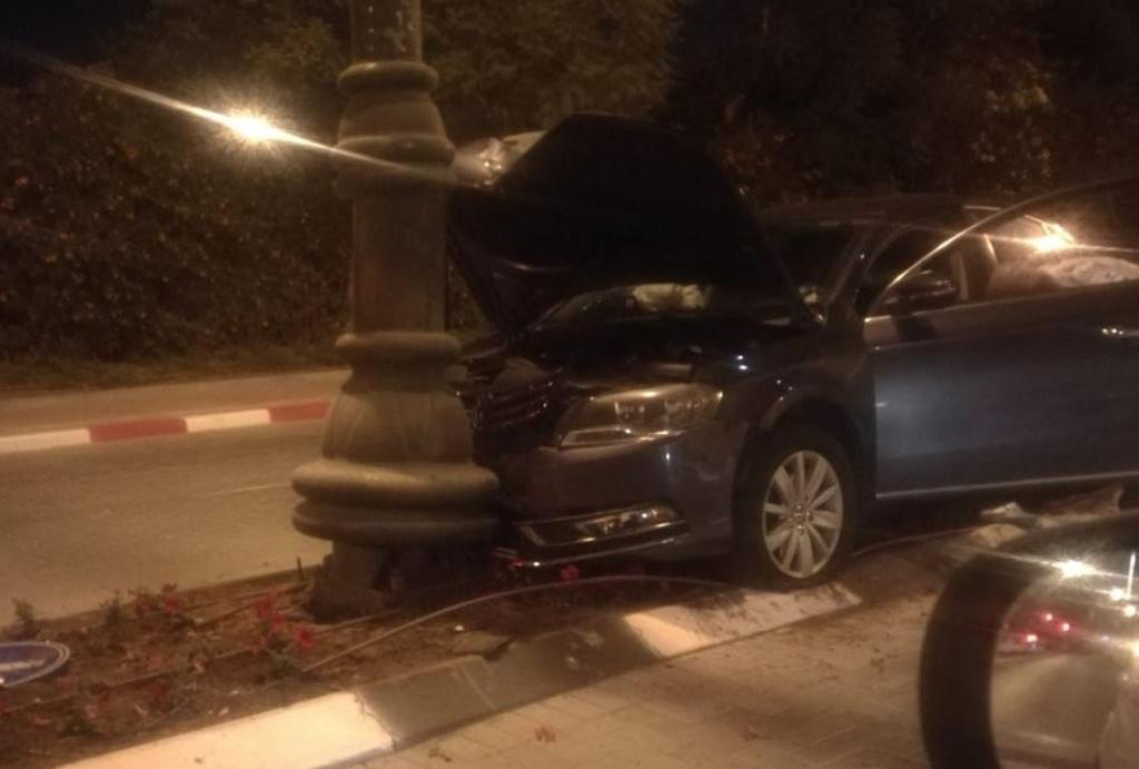תאונה באי התנועה | צילום: פרטי