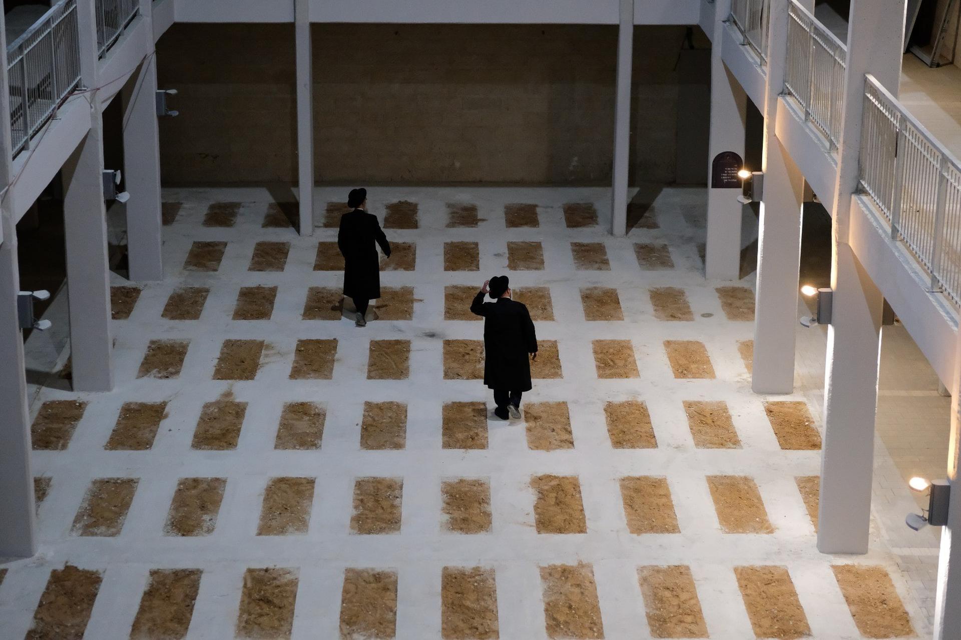 בית הקברות התת קרקעי גבעת שאול. צילום: יואב דודקביץ'