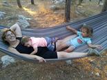 דודי זוהר ובנותיה | צילום: פרטי