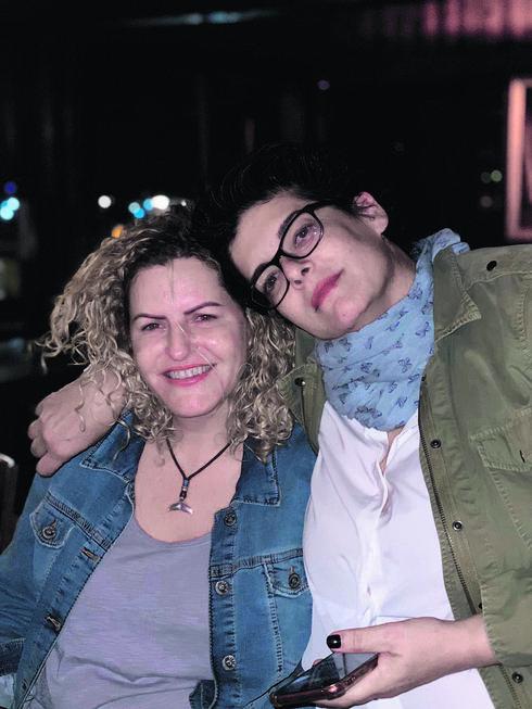 עם בת הזוג דפי | צילום: פרטי